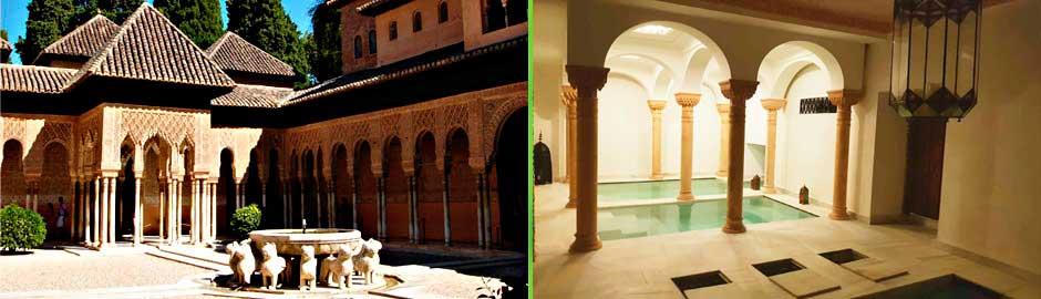 Baños Árabes Hammam Más Visita En Grupo A La Alhambra